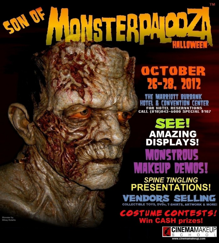 Son of Monsterpalooza October 26th - 28th in Burbank